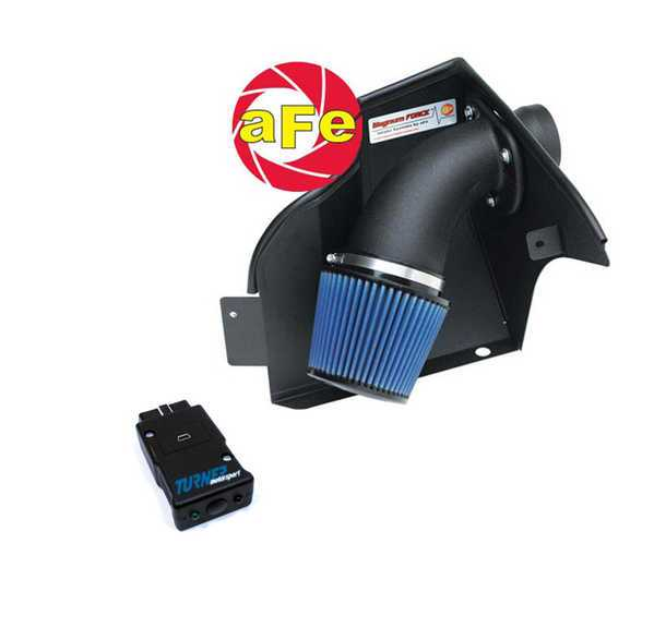 T#2845 - TMS2845 - E36 328i/is 96-99 Stage 1 Turner Motorsport Performance Package - 1996-99 E36 328i/ic/is Stage 1 Performance PackagePeak Power Gain: +17hp / +12ft-lbsRev limit: 7000Octane: 91 or higherOur Stage 1 kit featuring a cold-air intake kit and performance software. The aFe coil air intake is made with heat-blocking materials, reducing underhood temperatures and not contributing to heat soak of the air filter. aFe uses an oiled cotton air filter for maximum air flow and excellent filtration. The kit is supplied complete with heat shield, intake tube, sealing materials, hardware, and install instructions.The software is also Conforti-tuned and supplied with the Shark Injector software loader. The Shark Injector is a do-it-yourself reflash tool that plugs into the diagnostic plug in the engine bay. With the push of a button, it will copy your stock software and reflash your computer with the performance tune. You can set it back to stock at any time by following the same procedure.Both of these items are packaged and work together. They provide a solid performance boost with a low upfront cost. For an excellent 'bang for the buck' upgrade, the software and intake are a great choice (TMS Underdrive Pulleys would also be on that list).Related Upgrades: We are often asked what would complement our software and intake packages. Within any Stage, we recommend our Underdrive Power Pulley Kits. The Power Pulley Kit will under-drive the alternator, water pump, and power steering pump. Under-driving means each component is moving slower which requires less power. The saved horsepower is put back to the engine where it transfers to power at the wheels. Power gains are typically 10 horsepower at the wheels.We also recommend upgrading the cat-back muffler for slightly more performance, lighter weight, and a more-aggressive sound. Our favorite E36 M3 mufflers are the Supersprint, Borla, or Corsa exhausts. The Supersprint is the quietest and most like stock while the Corsa is the most aggressive (Borla being in the middle). You can expect a gain of 5whp with any of these exhausts.1996-99 E36 328i/ic/is Stage 1 Performance Package includes:aFe Cold Air Intake (oiled cotton filter, heat shield, intake tube)Shark Injector performance softwareApplications:1996-1999 E36 328i sedan, 328i cabrio, 328is coupe - Packaged by Turner - BMW