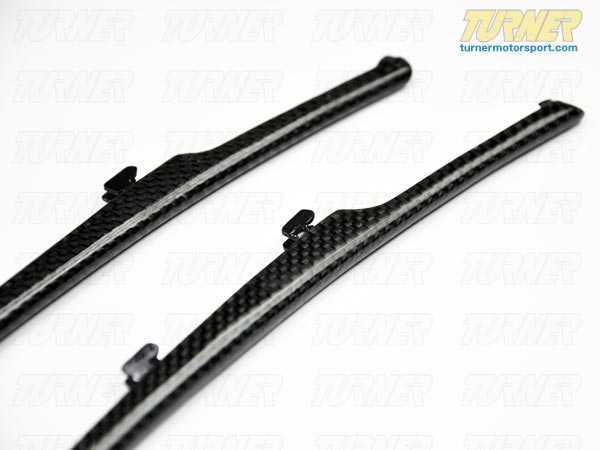 T#1208 - BM-0205 - Carbon Fiber Fender Side Grill Trim Set - E63 645i 650i - AUTOTECKNIC - BMW