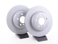 Rear Zimmermann Coated Brake Rotors (330x20)(Pair) - F30 335i 335iX, F32 435i 435iX