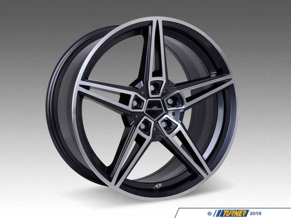 "T#396384 - 36112302007 - AC1 BiColor Wheel 18""x8.5"" 5x120 ET43 - Priced Each - AC Schnitzer - BMW MINI"