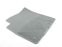 T#372138 - W37GR - Front All-weather Rubber Mats - Grey - E31 E32 E34 Z3 - WeatherTech - BMW