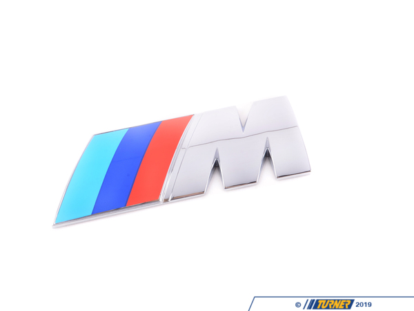T#36634 - 11617835835 - Genuine BMW Emblem Adhered M - 11617835835 -E60 M5,E63 M6 - Genuine BMW -