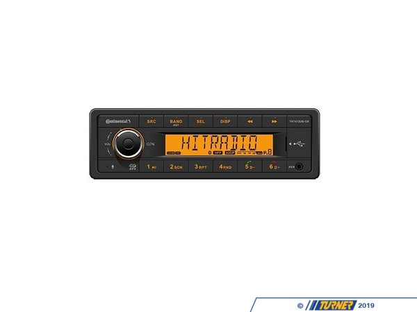 VDO VDO Head Unit - USB, and Aux Input TR7412UB-OR