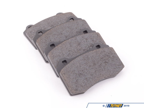 T#1647 - TMS1647 - Brembo Calipers Lotus, A, C, F - Race Brake Pad Set - Pagid RS14 Black - Pagid Racing - BMW