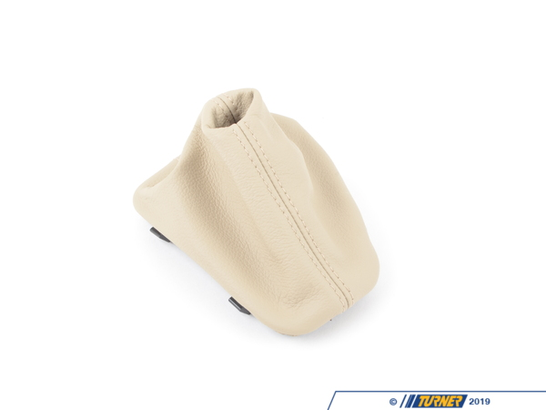 T#53290 - 25167526980 - Genuine BMW Selector Lever Boot Beige - 25167526980 - E85 - Genuine BMW -