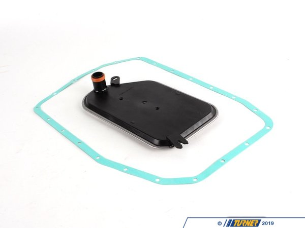 T#2935 - 24341423376KIT - OEM Rein Automatic Transmission Filter Kit - E46 E39 E85 - Automatic transmissions are reliable, shift smoothly, and can last without issue so long as they are properly maintained. Over time, the transmission fluid becomes thick and the filter becomes contaminated with small metal particles. This can cause excess wear, high transmission operating temperatures,and eventual failure. To prevent this we recommend changing your filter, fluid, and seals to ensure your transmission continues to operate flawlessly. We recommend filter and fluid changes every 50,000 miles. This filter fits A5S325Z automatic transmissions on BMW E46 323i 323ci 325i 325ci 328i 328ci 330i 330ci . E39 525i 528i 530i. E85 Z4 2.5i Z4 3.0i. This kit includes the transmission filter and gasket.Kit Contents:1 x 24341423376 - transmission filter1 x 24101423380 - gasket for transmission filterThis item fits the following BMWs:3/2000-2004  E46 BMW 323i 323ci 325i 325ci 330i 330ci2003-2005  E46 BMW 325i with M56 engine3/2001-2003  E39 BMW 525i 530i2003-2006  E85 BMW Z4 2.5i Z3 3.0i - Rein - BMW