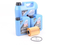 T#555443 - LM0CK17KT - Liqui Moly Longtime High Tech 5w-30 Oil Service Kit - E36 M3 Z3 M (S52) - Packaged by Turner - BMW