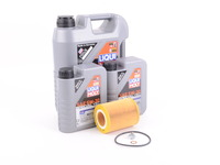 T#555447 - LM0CK21KT - Liqui Moly Special Tec LL 5W-30 Oil Service Kit - M52 M54 - Packaged by Turner - BMW