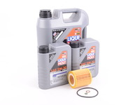 T#555432 - LM0CK5KT - Liqui Moly Special Tec LL 5W-30 Oil Service Kit - N20 N52 N54 N55 - Packaged by Turner - BMW