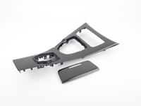 T#396214 - BM-0361-MT-09 - Carbon Fiber Center Console - E92 M3 09&UP Manual Transmission 2x2 Weave - AUTOTECKNIC - BMW