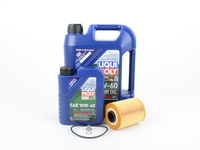 Liqui Moly Race Tech GT1 10w-60 Oil Service Kit - E46 M3 Z3/Z4 M Coupe/Roadster (S54)
