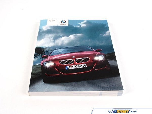 T#26630 - 01412600775 - Genuine BMW Owner's Manual E63 M6, E64 M6 - 01412600775 - E63,E63 M6 - Genuine BMW -