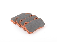 Brembo Calipers Lotus, A, C, F - Race Brake Pad Set - Pagid RS4-4 Orange