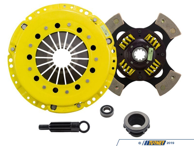 Bm1 Hdg4kt Act Heavy Duty Sprung 4 Pad Racing Clutch Kit