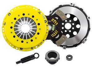 Advanced Clutch Technology Heavy Duty Sprung 4-Pad Racing Clutch Kit With XACT Streetlite Flywheel - E36 Non-M, E34 525i, Z3 Non-M, E46 Non-M 5-Speed