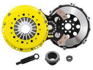 Advanced Clutch Technology Heavy Duty 4-Pad Rigid Racing Clutch Kit With XACT Streetlite Flywheel - E36 Non-M, E34 525i, Z3 Non-M, E46 Non-M 5-Speed