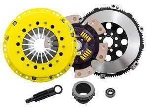 Advanced Clutch Technology Heavy Duty Sprung 6-Pad Racing Clutch Kit With XACT Streetlite Flywheel - E36 Non-M, E34 525i, Z3 Non-M, E46 Non-M 5-Speed