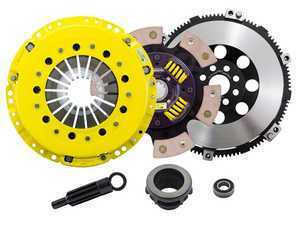 Advanced Clutch Technology Heavy Duty Sprung 6-Pad Racing Clutch Kit With XACT Prolite Flywheel - E36 Non-M, E34 525i, Z3 Non-M, E46 Non-M 5-Speed