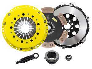 Advanced Clutch Technology Heavy Duty Rigid 6-Pad Racing Clutch Kit With XACT Streetlite Flywheel - E36 Non-M, E34 525i, Z3 Non-M, E46 Non-M 5-Speed