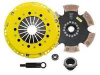 Advanced Clutch Technology Heavy Duty Rigid 6-Pad Racing Clutch Kit With XACT Streetlite Flywheel - E36 M3, Z3 S52 S54