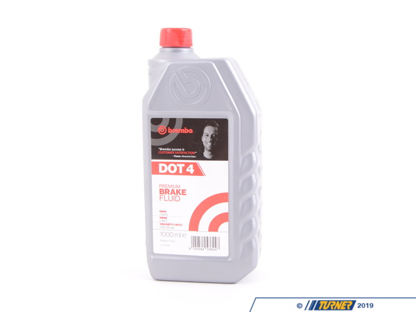 T#396531 - L04010 - Brembo Dot 4 Brake Fluid - 1 Liter - Dry Boiling Point: 260  CWet Boiling Point: 165  CMAX Viscosity -40  C (cSt): 1,400 cSt max - Brembo - BMW MINI