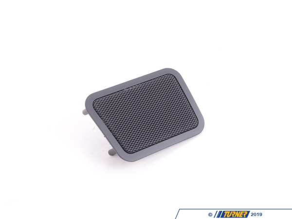 T#101021 - 51428196573 - Genuine BMW Left Rear Loudspeaker Cover Schwarz - 51428196573 - E39 - Genuine BMW -