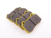 Brembo Calipers Lotus, A, C, F - Race Brake Pad Set - Pagid RS29 Yellow