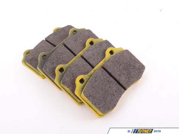 Pagid Racing Brembo Calipers Lotus, A, C, F - Race Brake Pad Set - Pagid RS29 Yellow TMS1650