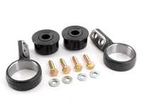 Turner Centered Polyurethane Front Control Arm Bushing - 95A - Pre-Installed In Brackets - E36, Z3, E30