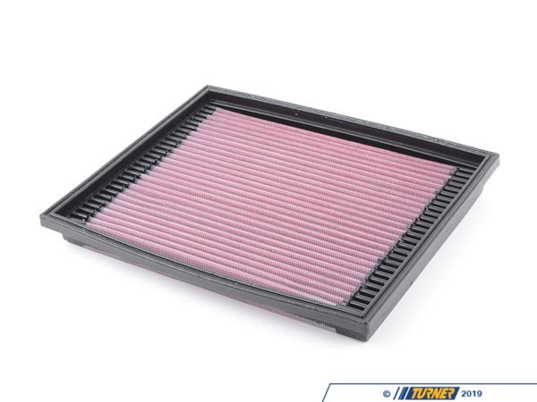 T#4007 - 33-2675 - E32 740i, E34 530i/540i K&N High-Flow Air Filter - K&N - BMW