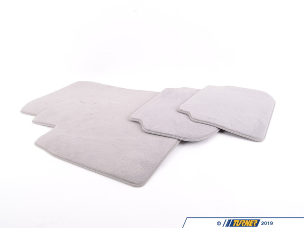 T#24109 - 51477220448 - Genuine BMW Set Of Floor Mats Velours Everestgrau - 51477220448 - F10 - Genuine BMW -