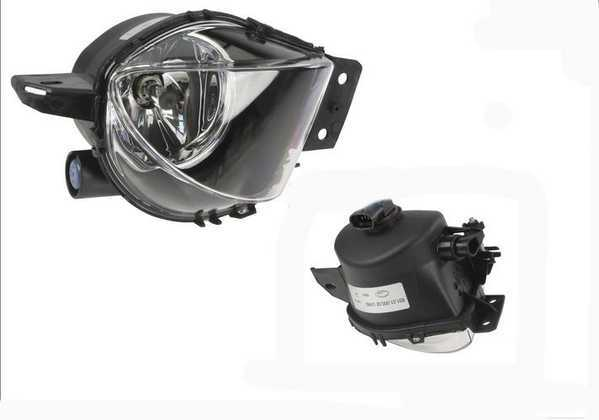 ZKW Fog Light - Left - E90 2006-2008 3 Series Sedan 63176948373