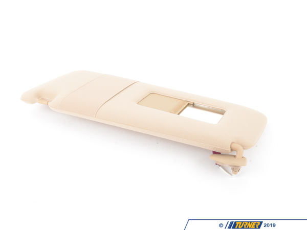 T#85697 - 51168174723 - Genuine BMW Left Sun Visor Make-Up Lamp Sandbeige - 51168174723 - Genuine BMW -